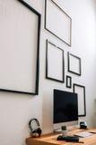 Espace de travail créatif moderne Image stock