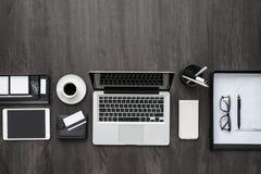 Espace de travail d'entreprise constituée en société Images stock