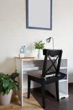 Espace de travail dans un style scandinave Photo stock
