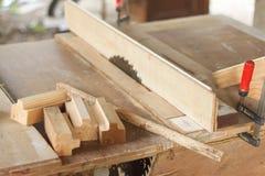Espace de travail de charpentier Photo libre de droits