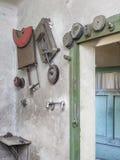 Espace de travail et outils intérieurs d'usine Photo libre de droits