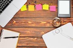 Espace de travail indépendant de concepteur ou d'illustrateur Images stock