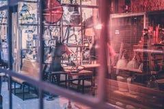 Espace de travail de travail manuel, atelier, atelier de réparations Photos libres de droits
