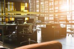 Espace de travail moderne et espace coworking Photos stock