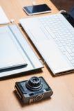 Espace de travail pour le photographe Images stock