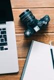Espace de travail pour le photographe Photo libre de droits