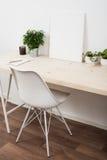 Espace de travail scandinave de démarrage de style Image libre de droits
