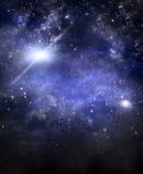 Espace extra-atmosphérique profond, fond Image libre de droits