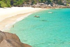 Espace libre de miroir, îles de Similan Photographie stock