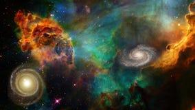 Espace lointain Image libre de droits