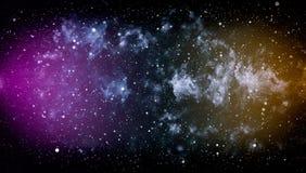 Espace lointain Fond élevé de gisement d'étoile de définition Texture étoilée de fond d'espace extra-atmosphérique Espace extra-a Images stock