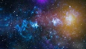 Espace lointain Fond élevé de gisement d'étoile de définition Texture étoilée de fond d'espace extra-atmosphérique Espace extra-a Images libres de droits