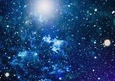 Espace lointain Fond élevé de gisement d'étoile de définition Texture étoilée de fond d'espace extra-atmosphérique Espace extra-a Photo stock