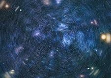 Espace lointain Fond élevé de gisement d'étoile de définition Photo libre de droits