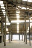 Espace mémoire abandonné dans une usine Photos libres de droits