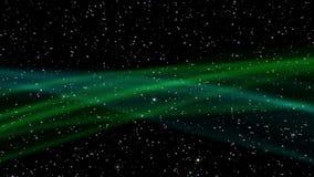 Espace o movimento dos raios de uma estrela brilhante do cosmos ilustração royalty free