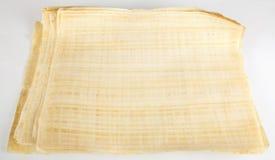 Espace publicitaire égyptien de papyrus Images libres de droits