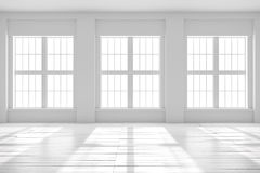 Espace vide blanc de studio ou de bureau Photo libre de droits