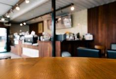 Espace vide de Tableau dans le café Photographie stock