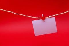 Espace vide en feuille blanche Photo libre de droits