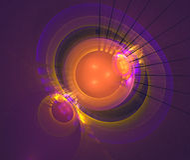 Espacio Foto de archivo libre de regalías