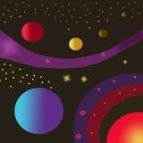 Espacio Imagen de archivo