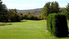 Espacio abierto del golf Foto de archivo libre de regalías