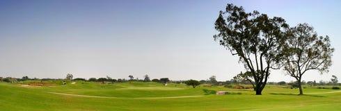 Espacio abierto del golf Foto de archivo