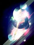 Espacio abstracto ilustración del vector