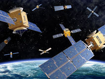 Espacio apretado ilustración del vector
