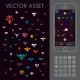 Espacio Arcade Game Activo del vector Fotos de archivo libres de regalías