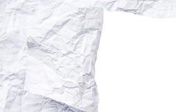 Espacio blanco de papel rasgado Fotos de archivo