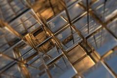 Espacio cúbico Fotografía de archivo libre de regalías