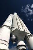 Espacio-cohete de Ariane 5 ESA Fotos de archivo