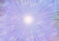 Espacio colorido con la estrella Foto de archivo libre de regalías