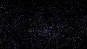 Espacio con las estrellas stock de ilustración