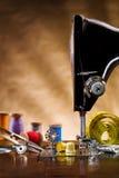 Espacio de costura de la copia de las fuentes Foto de archivo libre de regalías