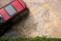 Espacio de estacionamiento Imágenes de archivo libres de regalías