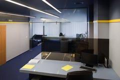 Espacio de funcionamiento de la oficina Foto de archivo