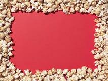 Espacio de la copia de la frontera de las palomitas - imagen común Foto de archivo libre de regalías
