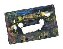 Espacio de la copia libre de la cinta de cassette de Grunge W. Fotos de archivo libres de regalías
