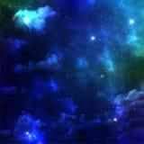 Espacio de la galaxia ilustración del vector
