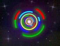 Espacio de la galaxia Imagenes de archivo