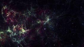 Espacio de la nebulosa oscura stock de ilustración