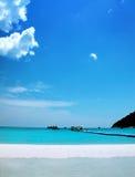 Espacio de la playa fotografía de archivo libre de regalías