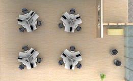 Espacio de oficina en el top Fotos de archivo