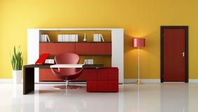 Espacio de oficina moderno Imagen de archivo libre de regalías