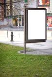 Espacio de publicidad público para el purpouse de la promoción Imagen de archivo libre de regalías