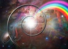 Espacio de tiempo Foto de archivo