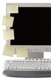 Espacio de trabajo ordenado con el camino fotografía de archivo libre de regalías